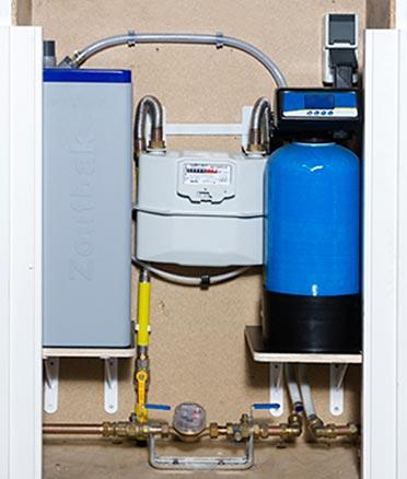 Waterontharder - Installatie